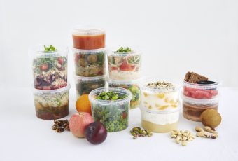 BalanceBox 4 days of food Indesign